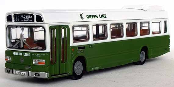 Green Line Leyland National LNC41