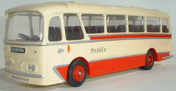 Hebble Motor Services AEC Reliance Harrington Cavalier.
