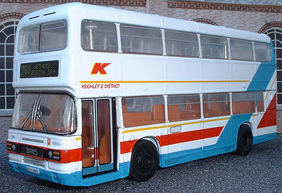 Keighley & District Leyland Olympian.