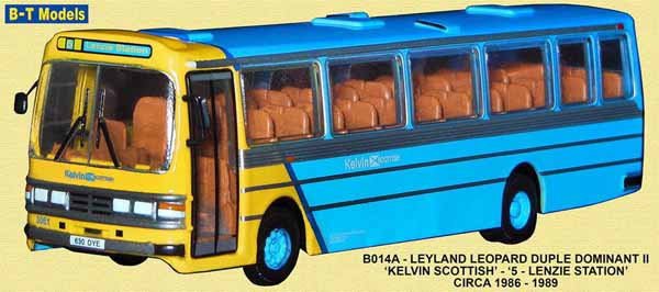 Kelvin Scottish Leyland Leopard Duple Dominant II