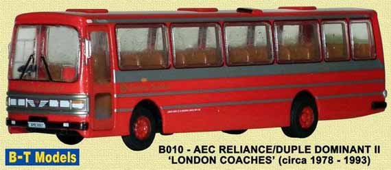London Coaches AEC Reliance Duple Dominant