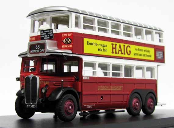 London Transport AEC Renown LT668