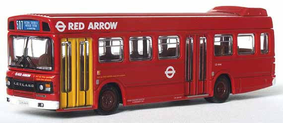 London Transport Leyland National 2 Red Arrow