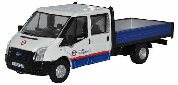 London Underground Ford Transit Dropside