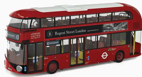 London United Wright New Routemaster.