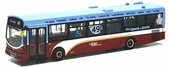 Lothian Buses Volvo B7RLE Wright Queen of Scots.