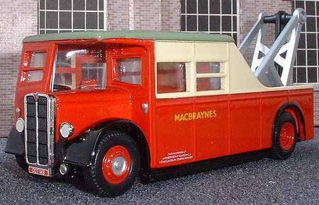 MacBrayne AEC breakdown tender.
