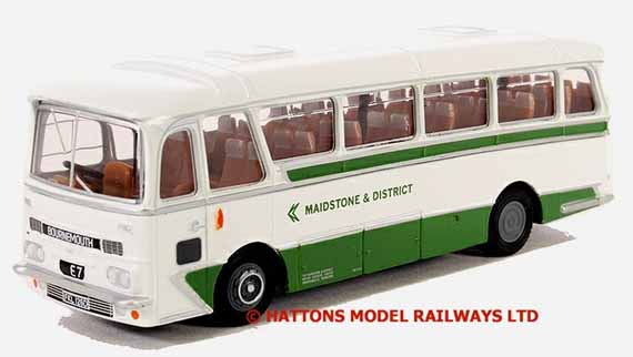 12311 Maidstone & District AEC Reliance Harrrington Grenadier pretending to be a 36ft model