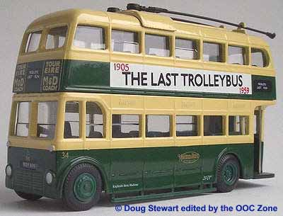 Maidstone & District last trolleybus.
