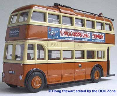 Maidstone Corporation BUT 9611T Weymann trolleybus