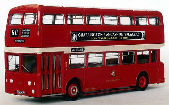 Manchester Corporation Leyland Atlantean MCW