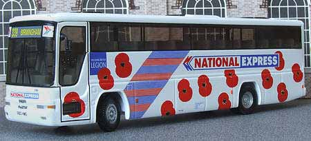 First Western National National Expres Poppy Appeal Volvo B10M Plaxton.