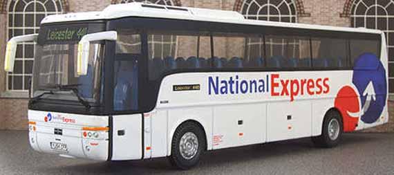 Arriva Fox County National Express DAF Van Hool T9
