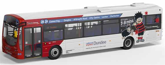 National Express Dundee Volvo B7RLE Wright Eclipse