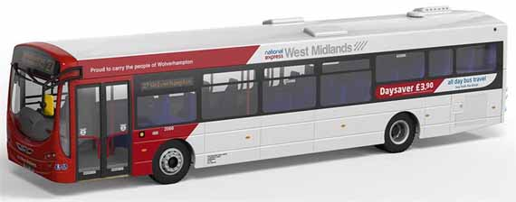 National Express West Midlands Volvo B7RLE Wright Eclipse