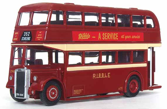Ribble lowbridge Leyland Titan PD2