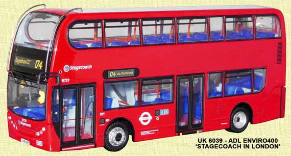 Stagecoach London ADL Enviro400