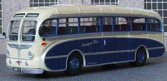 Stratord Blue Leyland Royal Tiger Burlingham Seagull.