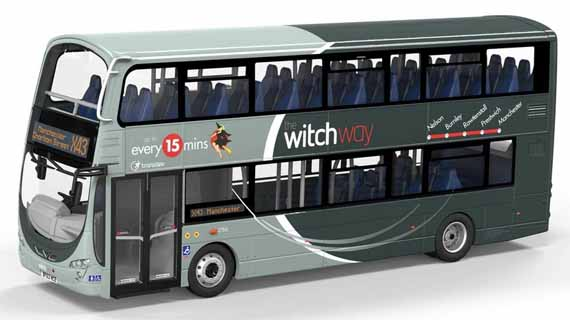 Transdev The Witch Way Volvo B9TL Wright Eclipse Gemini 2