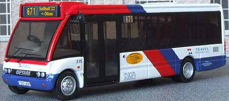 Travel West Midlands Optare Solo.
