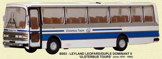 Ulsterbus Leyland Leopard Duple Dominant