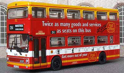 WMPTE Post Office advert MCW Metrobus.