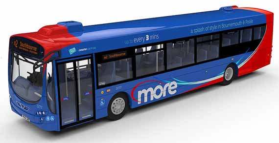 Wilts & Dorset Volvo B7RLE Wright Eclipse more