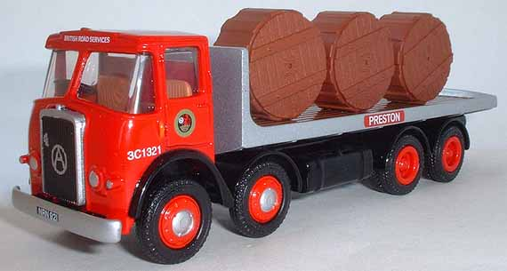 12804 Atkinson 8 Wheel Flatbed British Road Services.