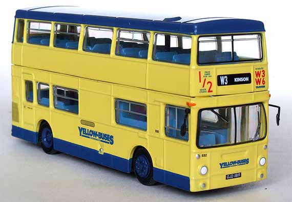25809 Daimler DMS 1 Door BOURNEMOUTH YELLOW BUSES.