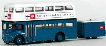 36201 RMA Routemaster and Trailer BRITISH EUROPEAN AIRWAYS.