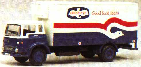 22905 Bedford TK Box. BIRDS EYE.