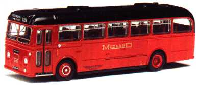 MIDLAND RED Leyland Leopard Willowbrook BET style.