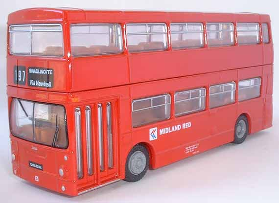 25802DL Daimler DMS MIDLAND RED