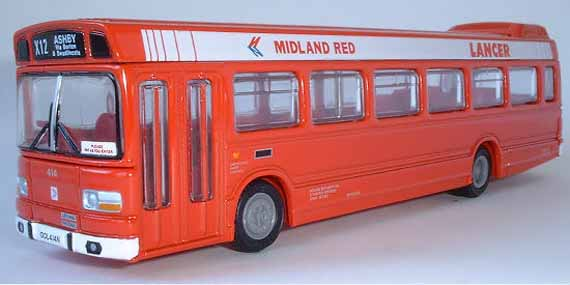 17205 Leyland National MIDLAND RED