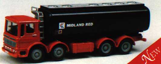 13801 AEC Ergomatic MIDLAND RED