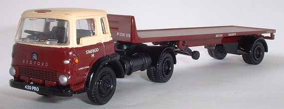 22201 BEDFORD TK ARTIC 1 AXLE FLATBED