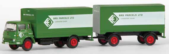 24002 Bedford TK Box & Trailer B.R.S. PARCELS
