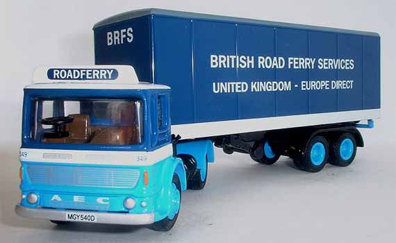 22105 Ergo Articulated Box Van BRITISH ROAD FERRY SERVICES.