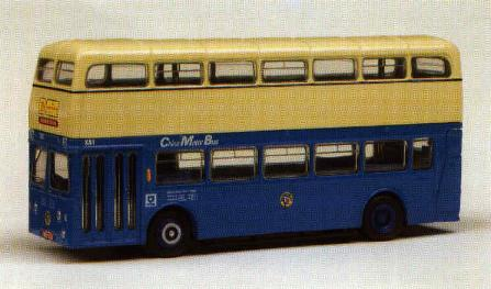 18106 CHINA MOTOR BUS COMPANY XA ATLANTEAN. (Blue/Cream livery)