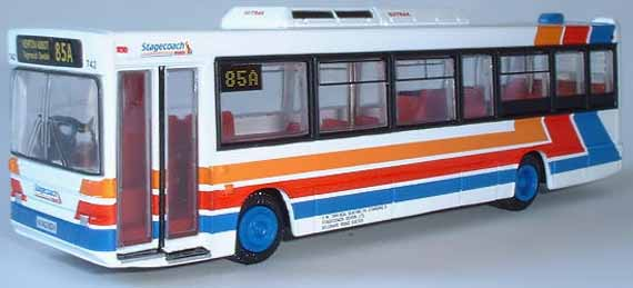 20627 Plaxton Pointer Dart STAGECOACH DEVON GENERAL