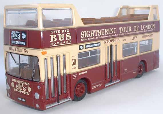 26101 Daimler DMS Open Top THE BIG BUS COMPANY