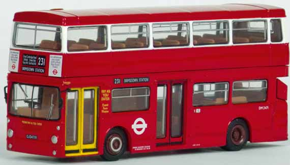 31302 Leyland Fleetline B20 LONDON TRANSPORT
