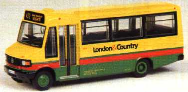 24811 Mercedes Minibus LONDON & COUNTRY.