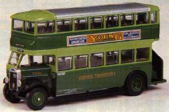 27209 Leyland TD1 Open Rear LONDON TRANSPORT.