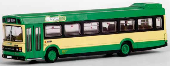 17507 Leyland National MkII Long MERSEYBUS.