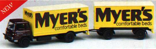 24001 Bedford TK Box & Trailer MYERS BEDS