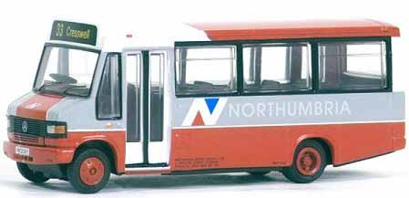 Northumbria Mercedes 709D Reeve Burgess