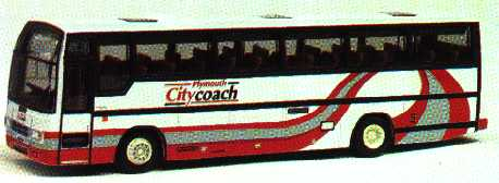 26603 Plaxton Paramount 3500 PLYMOUTH CITYCOACH