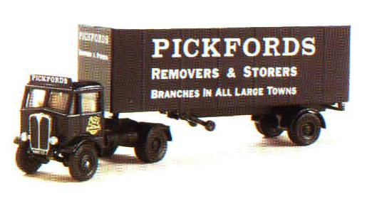 A.E.C. Articulated Box Van -19502