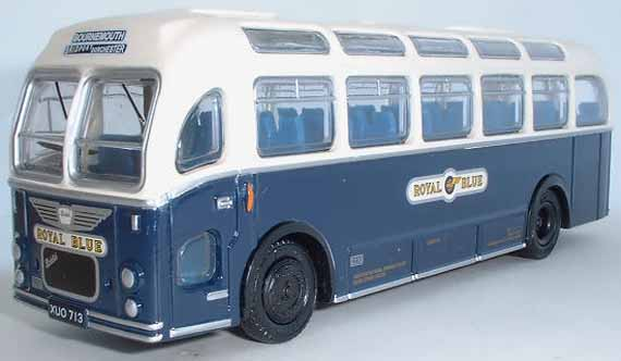 16216 Bristol MW Coach ROYAL BLUE